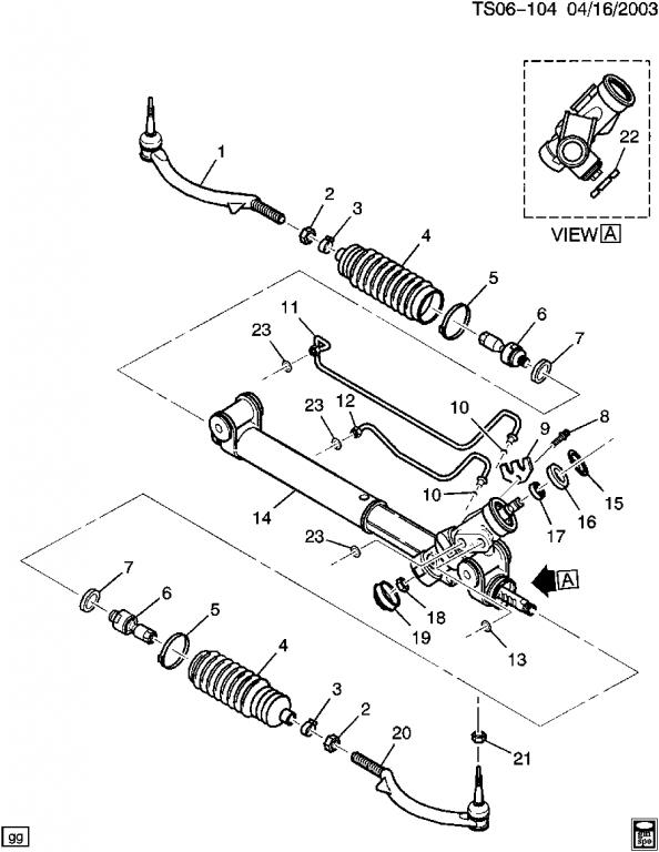2005 Chevy Trailblazer Pinion Line on Oldsmobile Bravada Parts Diagram
