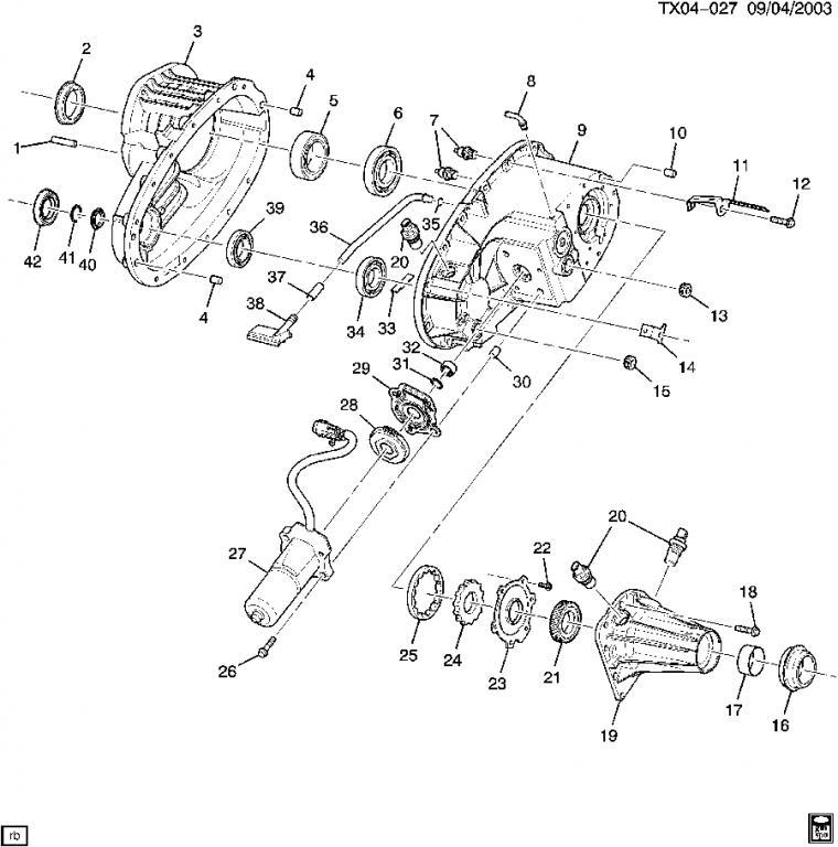 tranfer case 2007 trailblazer wiring diagram