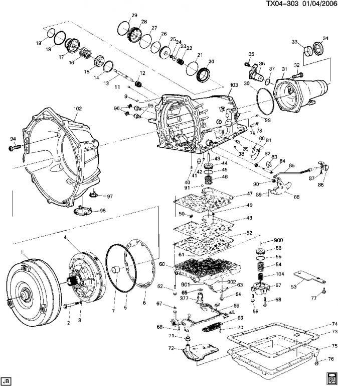 2002 chevy blazer transfer case diagram  2002  free engine 4R70W Solenoid Diagram 2003 Ford 4R70W Parts Diagram