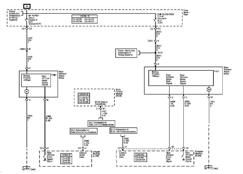 LGM (or LCM) Schematic - Chevy TrailBlazer, TrailBlazer SS and GMC ...