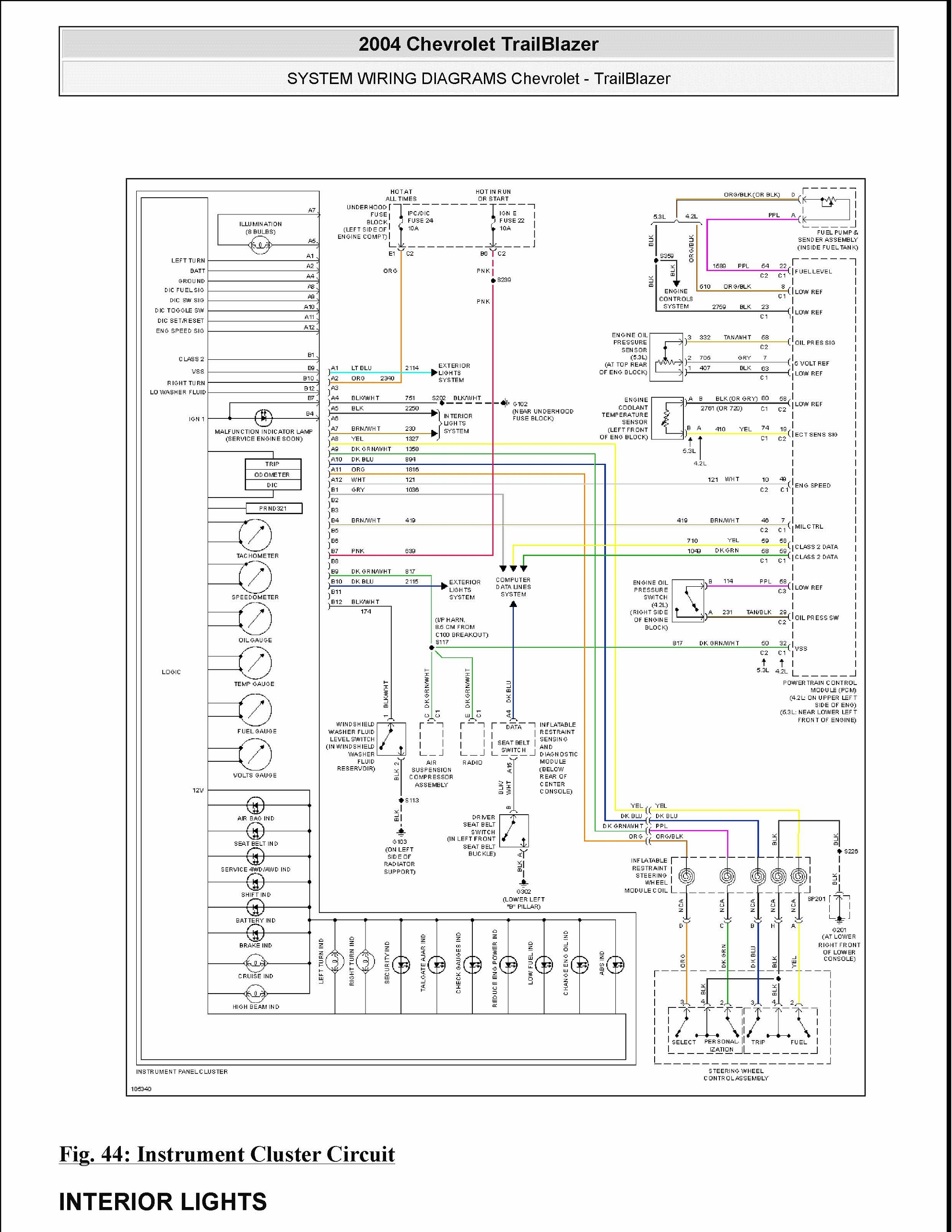 2005 chevy trailblazer trailer wiring diagram wiring diagram and 2006 tahoe bose wiring diagram 2005 chevy radio