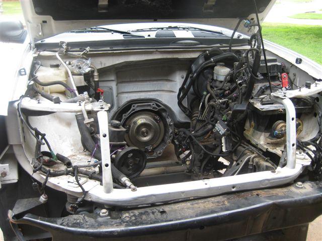 02 Engine Swap to 05  Chevy TrailBlazer TrailBlazer SS and GMC