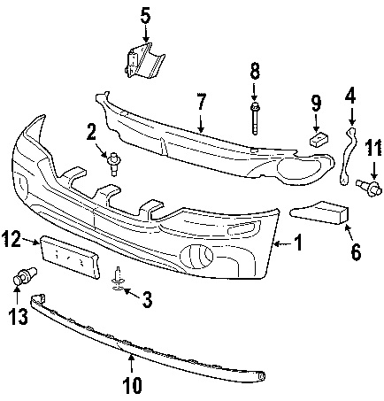 T6265693 2005 gmc sierra truck furthermore Acadia Headlight Fuse Location together with Toyota Tundra Starter Location V6 furthermore 2011 Maybach Landaulet Torque Converter Bolts Removal in addition 2003 Envoy Center Console Wiring Diagram. on wiring harness for 2003 gmc envoy