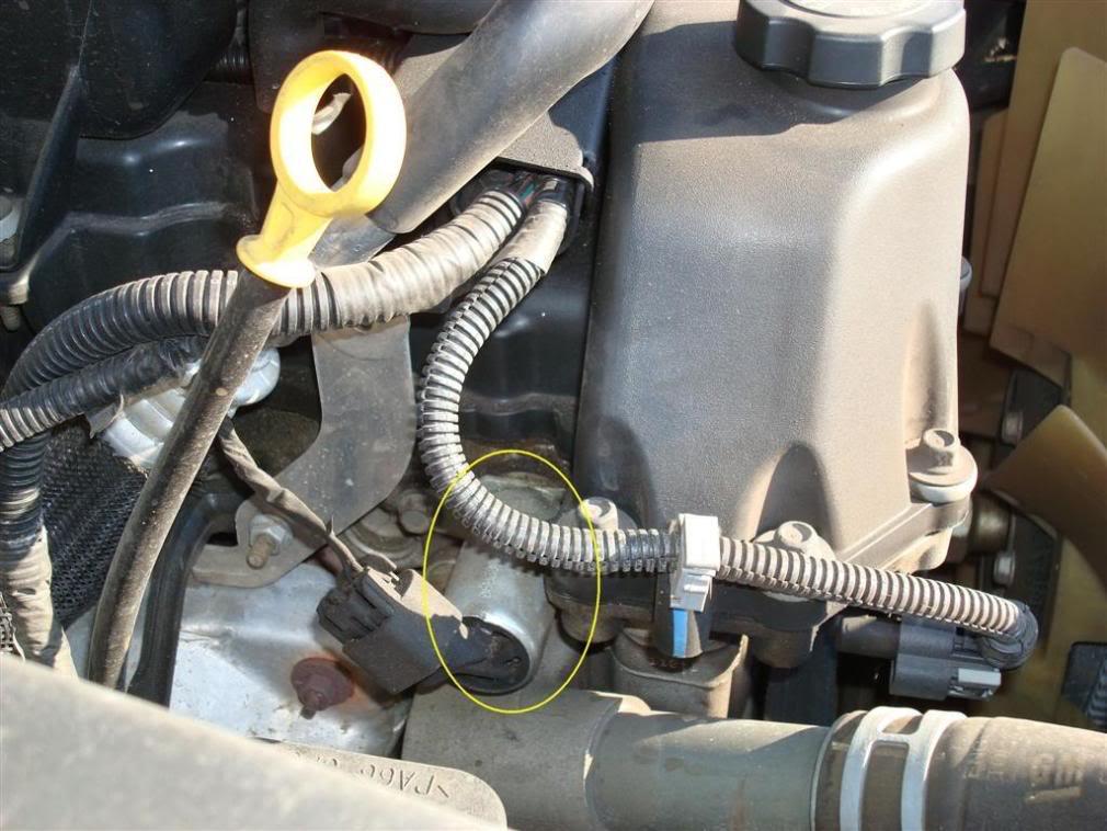 Code P1345 Cam Position Sensor Location Chevy Trailblazer