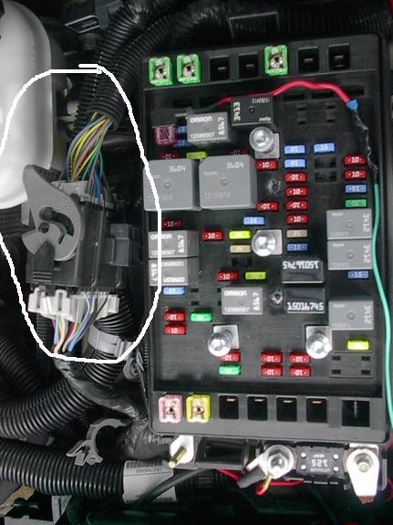 For A 2006 Trailblazer Fuse Diagram - Wiring Diagram & Schemas