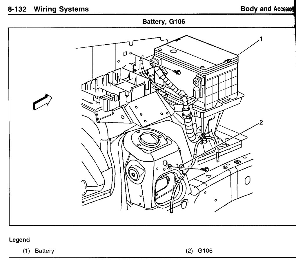 Location Of Electrical Grounds Chevy Trailblazer Ss 2004 Gmc Envoy Slt All Wiring Diagram Click Image For Larger Version Name Img019 Views 5100 Size