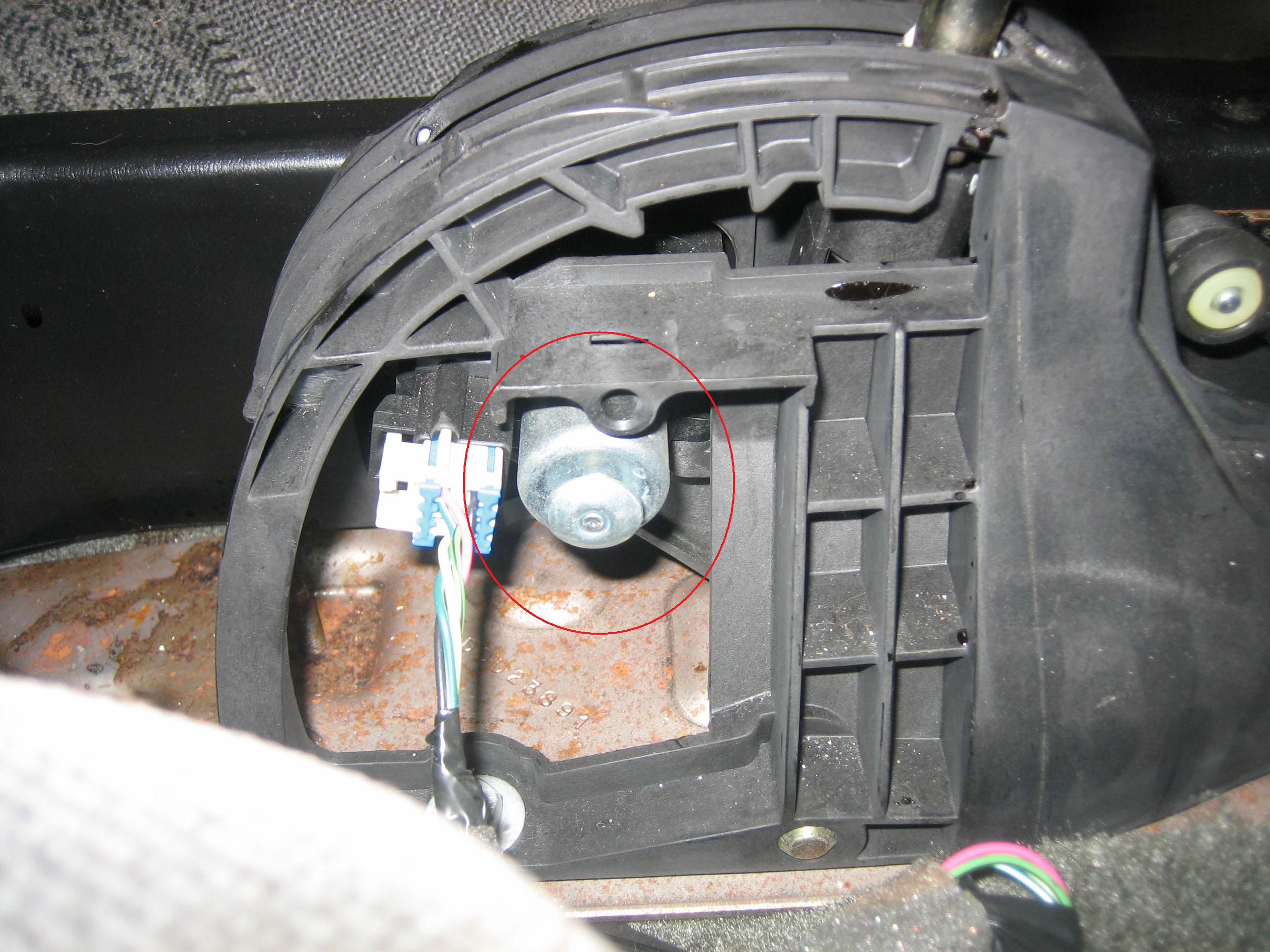 Shift lever on 2008 impala autos post