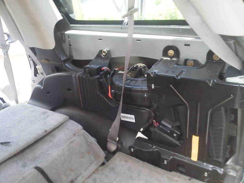 Cold Air From The Rear Heater Chevy Trailblazer Trailblazer