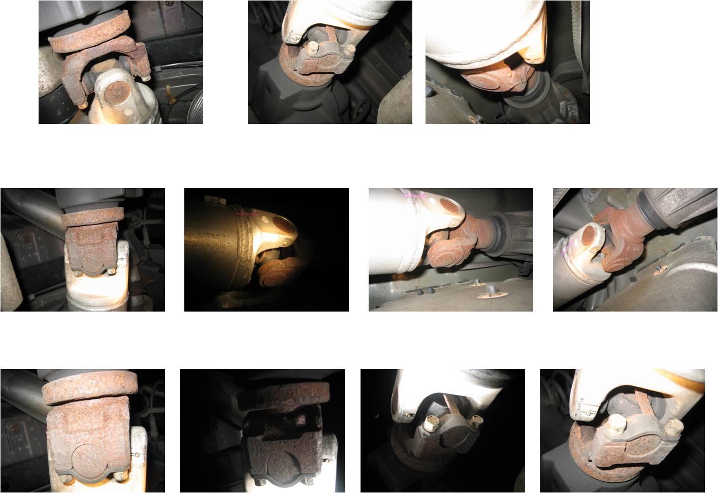 U Joint Replacement Chevy Trailblazer Trailblazer Ss And Gmc
