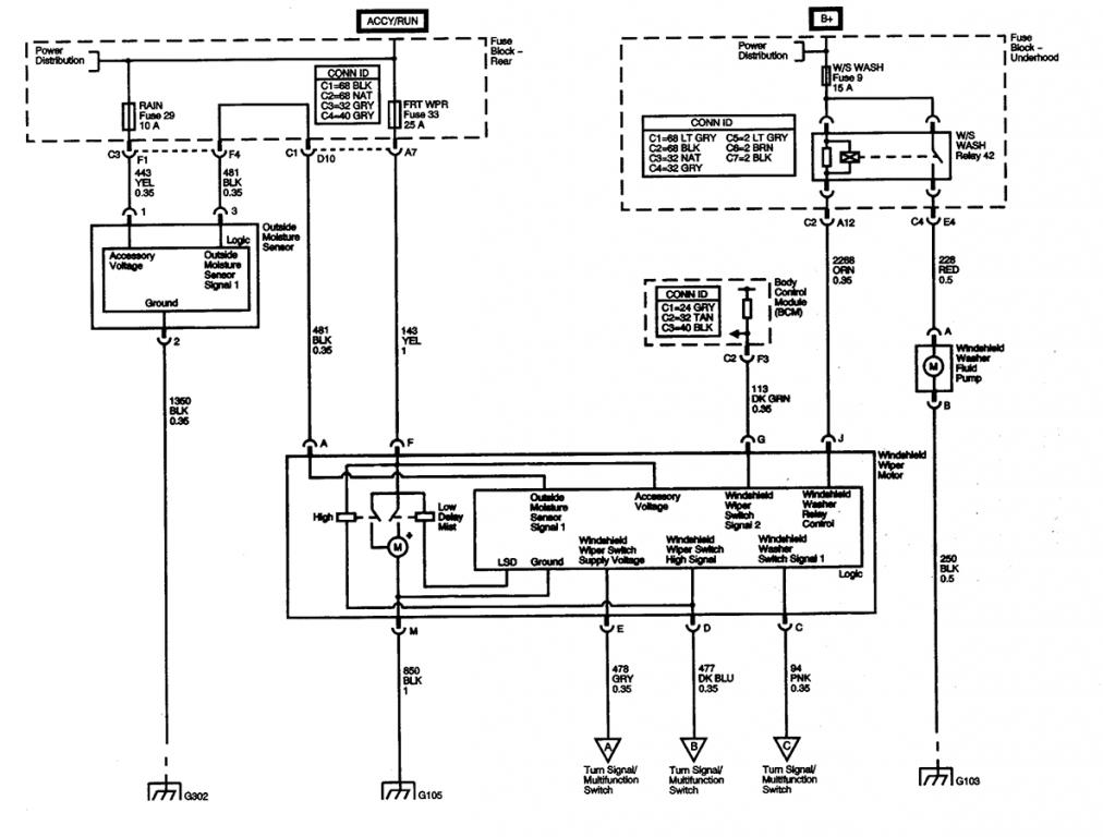 Wiring Diagram For 2005 Chevy Venture furthermore Fuses in addition Jeep Differential Diagram Html furthermore 94 F150 Air Conditioning Wiring Diagram besides 94 Explorer Vacuum Line Madness Pics Inside. on 1997 chevy blazer wiper problems