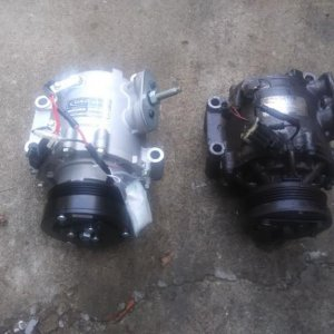 old ac compressor vs new