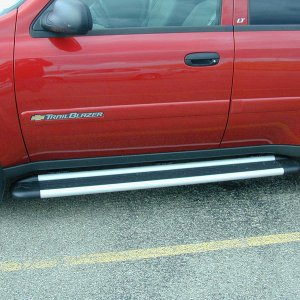 Aluminum Edged Running Boards