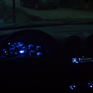 NEW DASH / INTERIOR at NIGHT